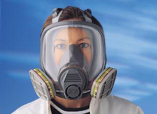 Celoobličejová maska 3M