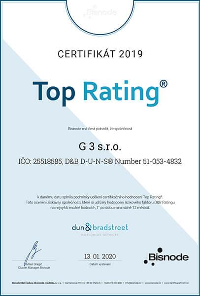 D&B Top Rating