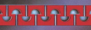 Systém hřebíčků 3M Dual-Lock