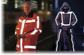 Reflexní materiály 3M pro bezpečnost při práci