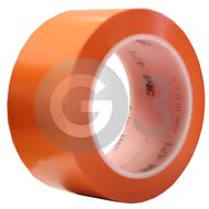 3M 471 Lepiaca páska z mäkkého PVC - oranžová