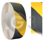 Protišmyková páska - čierno/žltá