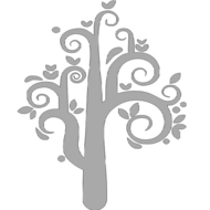 Reflexný motív - strom