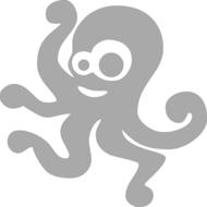 Reflexný motív - chobotnica