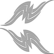 Reflexný motív - pásy 1