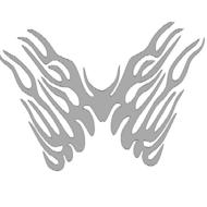 Reflexný motív - krídla 1
