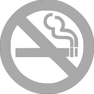 Reflexný motív - zákaz fajčenia