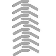 Reflexný motív - otlačok pneumatík