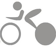 Reflexný motív - cyklista 2