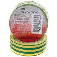 3M Plastová páska pre bežné použitie - zelenožltá