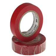 3M Plastová elektroizolačná páska - červená