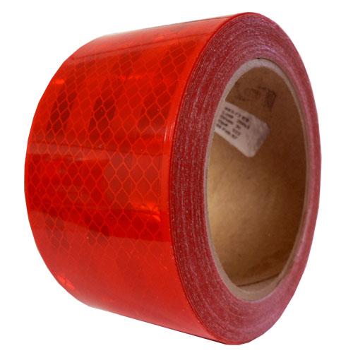 3M 983-72 Reflexná páska na značenie vozidiel - červená